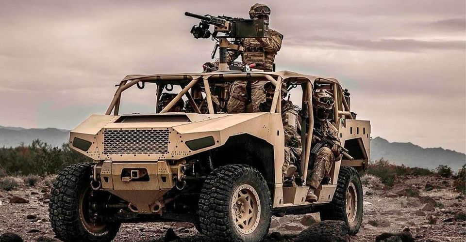 DAGOR від SAIC-Polaris Infantry Squad Vehicles (ISV)