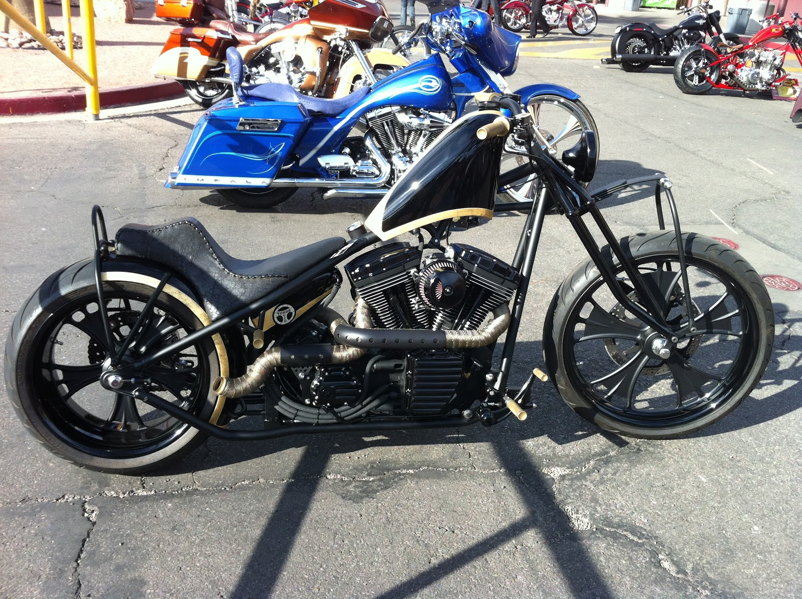 No.9 Cycles: Vegas Bike Fest/ Artistry In Iron Show Bikes
