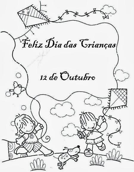 Desenhos Do Dia Das Criancas Para Imprimir E Colorir Pintar So