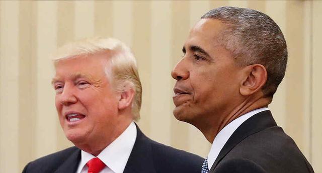 Confirman que la Administración de Obama vigiló al equipo de Trump tras las elecciones