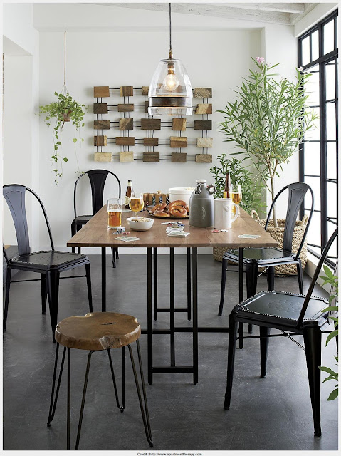Must see Origami Drop Leaf Dining Table Collection
