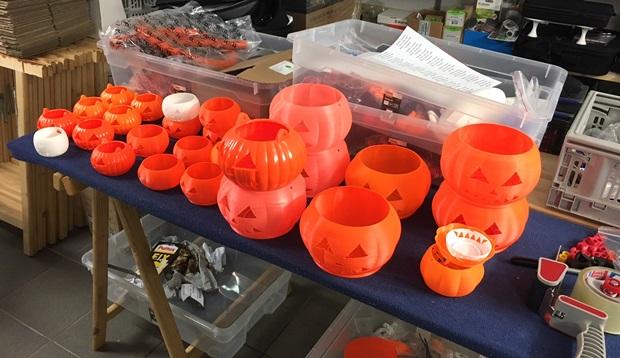 calabazas halloween impresion 3d