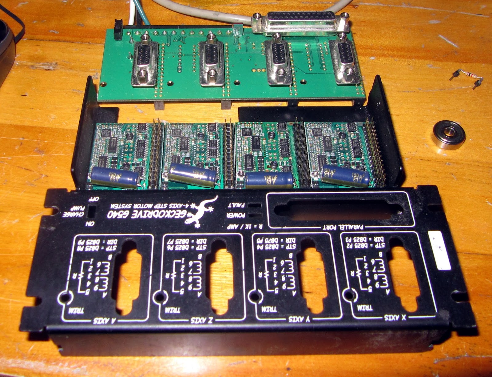 5 Axis Cnc Breakout Board Wiring Diagram Door Entry Diagrams Mach3 Limit Switch Fan Elsavadorla