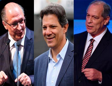 Um fim de semana para Alckmin, Haddad e Ciro em PE