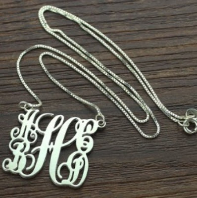Top quality Personalized Mom's Monogram Gift: 5 Initials Necklace - Price: $ 34.99