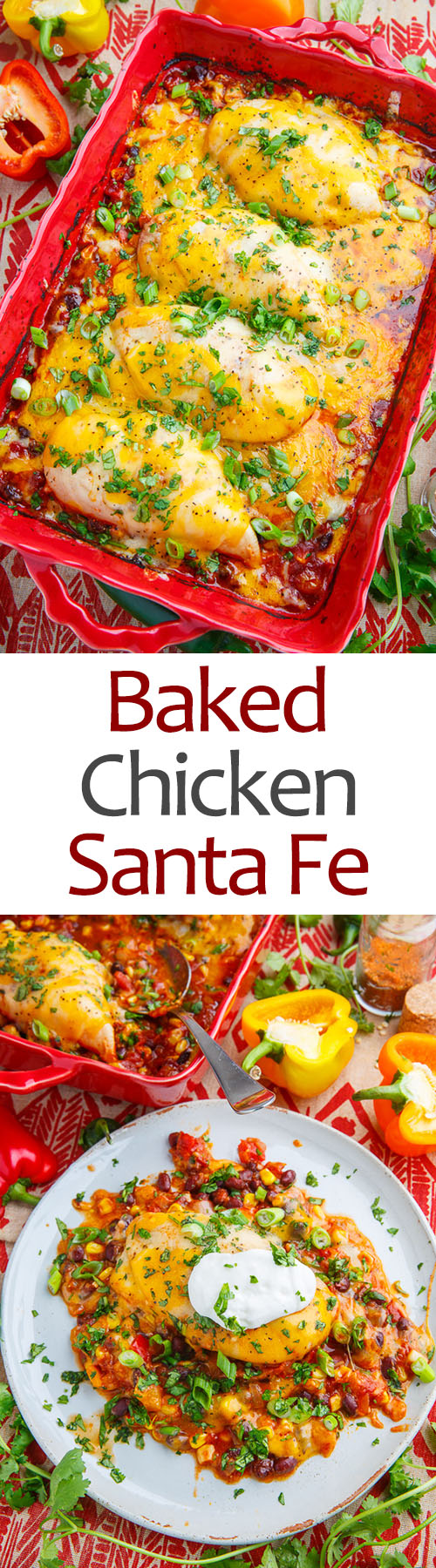 Baked Chicken Santa Fe