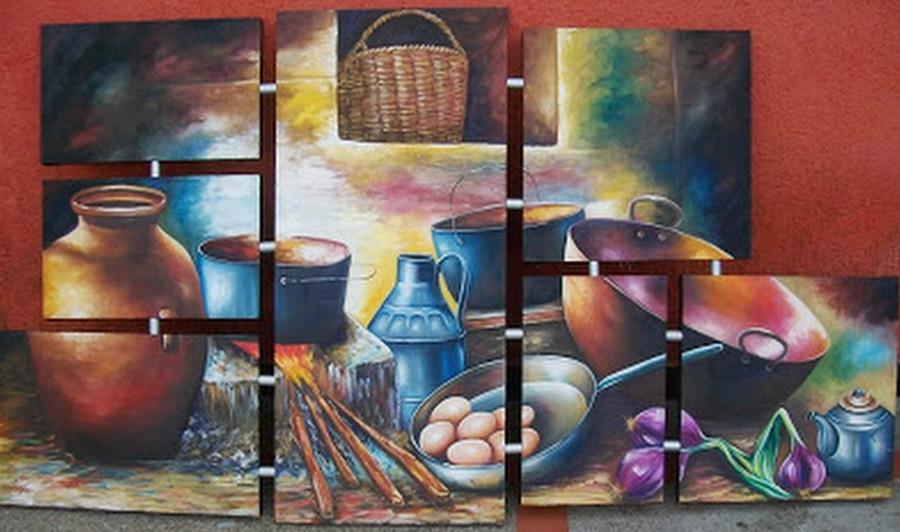 pintura moderna y fotograf a art stica pinturas de On cuadros para cocina rustica