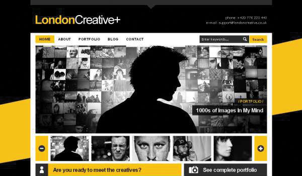 London-Creative-Portfolio-Blog-WP-Theme
