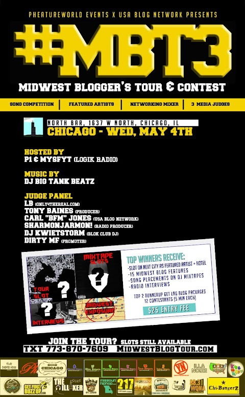 "INTERVIEW: Carl ""BFM"" Jones talks Midwest Blogger Tour 3 with 88.7FM Chicago"