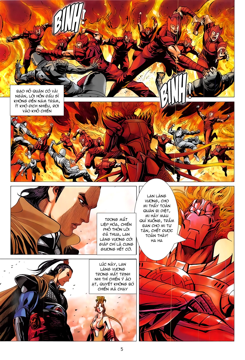 Chiến Phổ chapter 17: chiến thần phẫn nộ trang 5