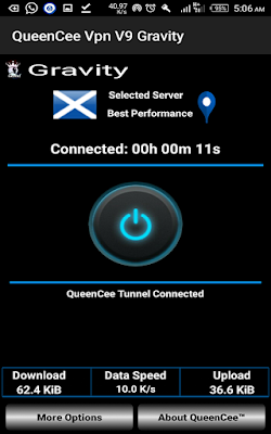 QueenCee VPN V5 Lite APK Free Download [ Updated ]