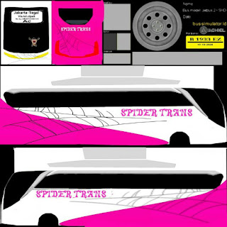 Kumpulan Livery Bus Simulator dari Berbagai Sumber