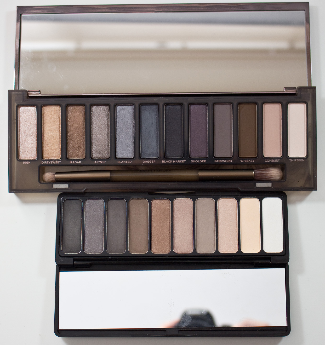 Warpaint And Unicorns Urban Decay Naked Smoky Palette Dupes Eyeshadow Vs Elf Everyday