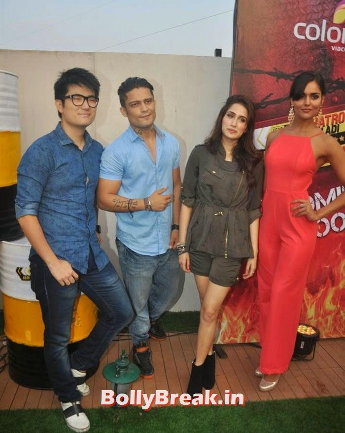 Meiyang Chang, Siddharth Bhardwaj, Sagarika Ghatge, Nathalia Kaur, 'Khatron Ke Khiladi' 6 Contestants Hot Pics