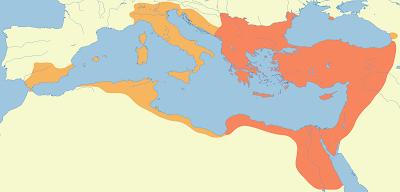 Imperio Bizantino en la época de Justiniano I