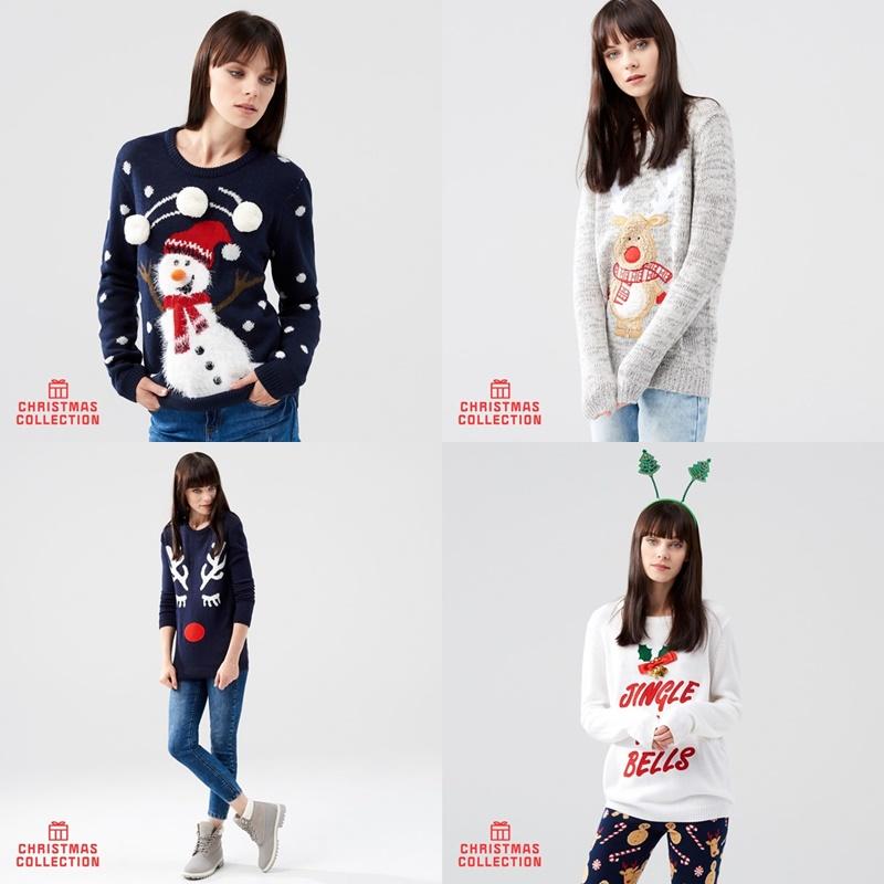 Świąteczne swetry cropp 2016