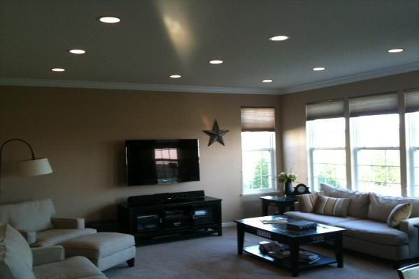 Recessed Lighting In Living Room