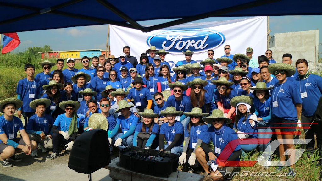 Ford Philippines Participates In Global Caring Month