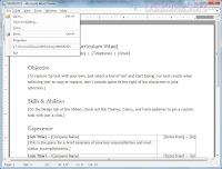 Microsoft Word Viewer screen 2