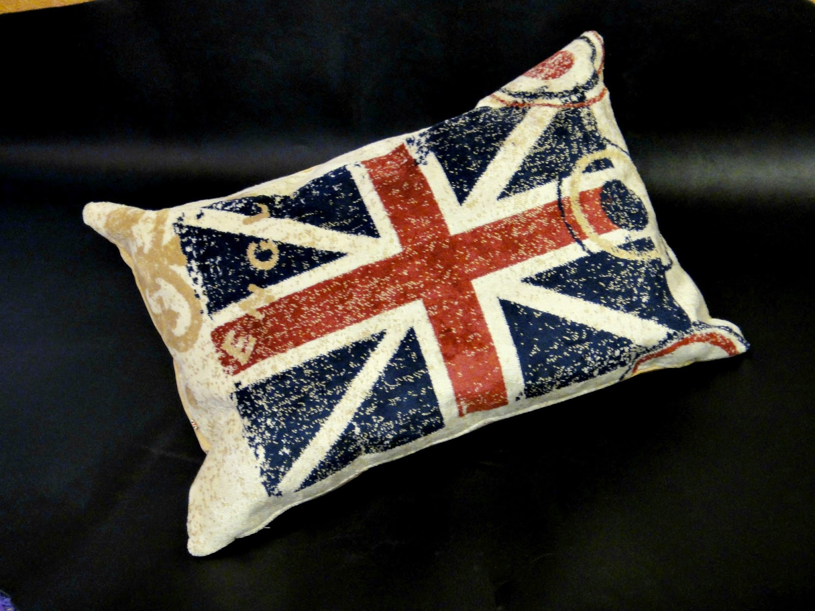 Диванные подушки: Английский флаг, Британский флаг - подушки в машину