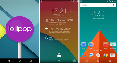 Custom ROM Android Lollipop 5.0