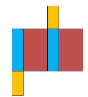 gambar jaring jaring balok 7