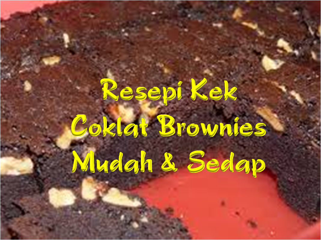 Kek Coklat Brownies