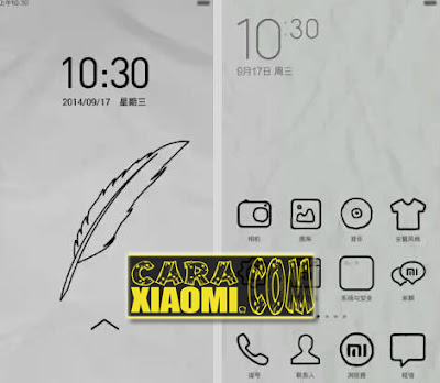 Download Kumpulan Tema Unik(Themes Monochrome Pixel, Themes Paper & MITU