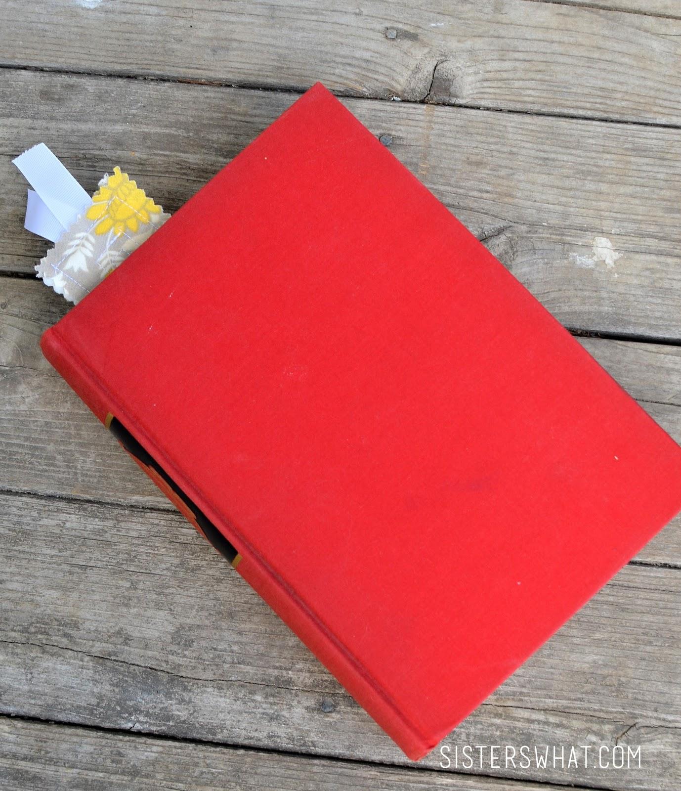Fabric bookmarks tutorial