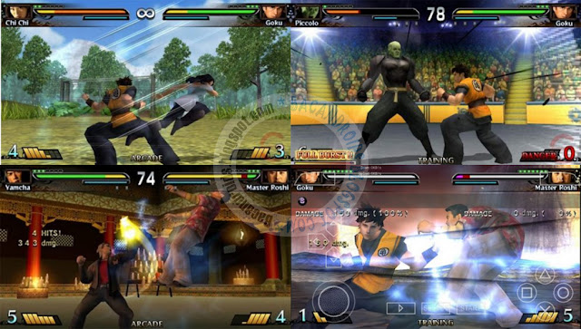 dragon ball Evolution iso PPSSPP
