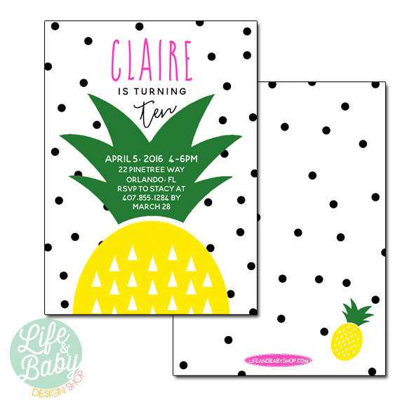 party best pineapple party ideas life baby baby showers