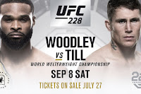 free ufc 228 tyron woodley vs Darren Till Fight pick prediction