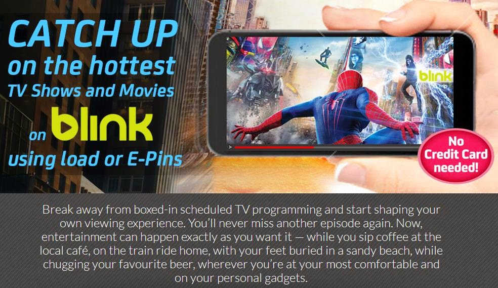 Premium Pass To Movies and TV Shows via BLINK Now Available On Smart, Sun and TNT