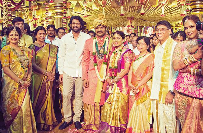 Rajnikanth, Manoj Manchu and Pranathi Reddy Wedding Pics