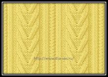vyazaniespicami uzorispicami shemauzora arani 針織圖案 针织图案 編みパターン knittingpatterns 7
