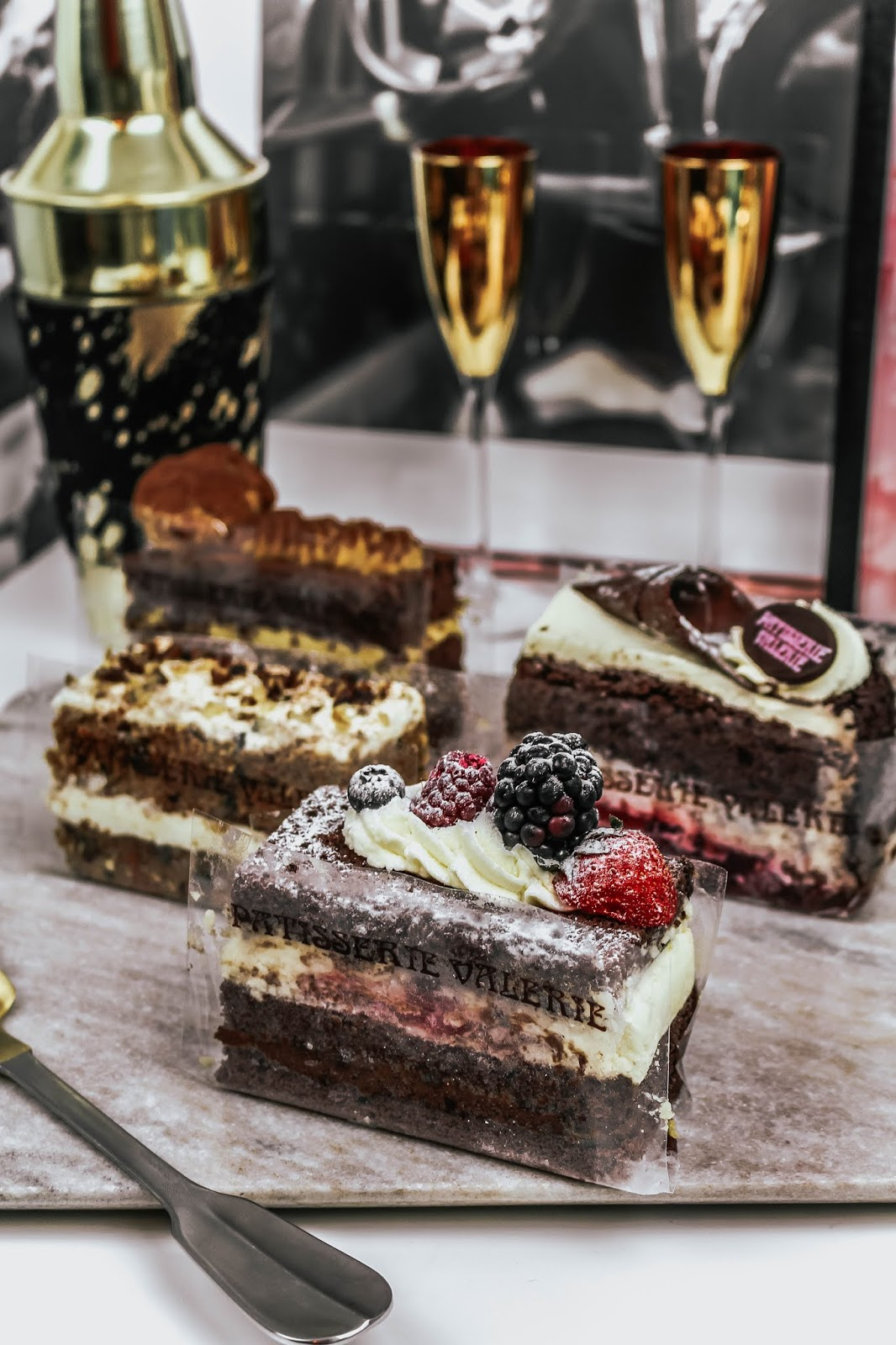 Patisserie Valerie Slices of Cake Afternoon Tea