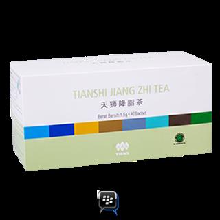jiang zhi tea melancarkan peredaran tubuh, membersihkan zat yang tak berguna