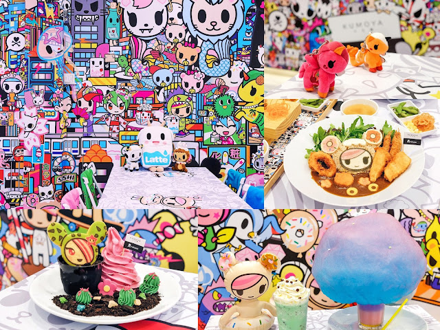 The World's First TOKIDOKI Pop-Up Cafe! Can You Guess Where To Find It?