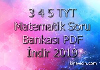 3 4 5 TYT Matematik Soru Bankası PDF İndir 2019