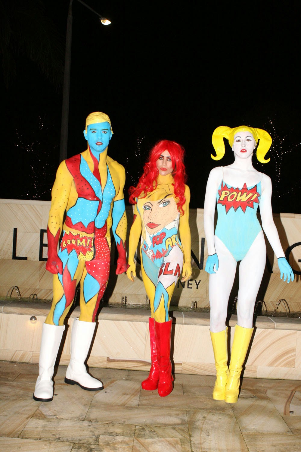 Bodypainting Australia News Pop Art Body Painting