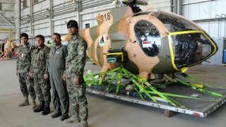 Helikopter MD-530F AU Afghanistan
