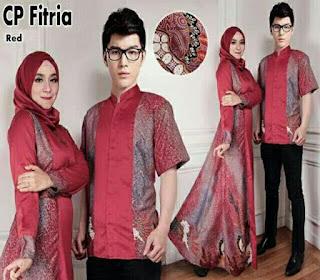 model baju batik modern dress