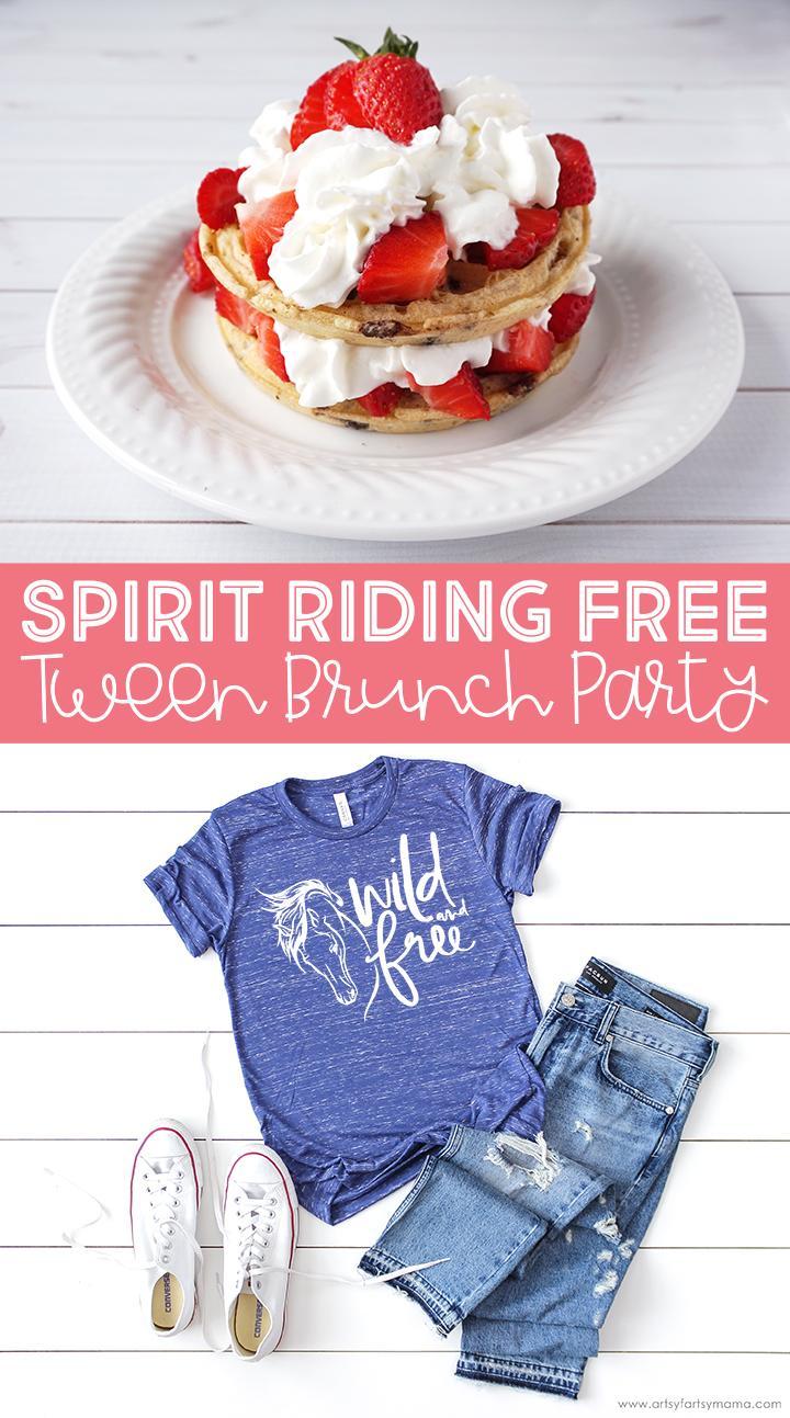 Spirit Riding Free Tween Brunch Party Artsy Fartsy Mama