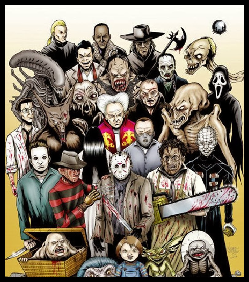 S Horror Movie Characters