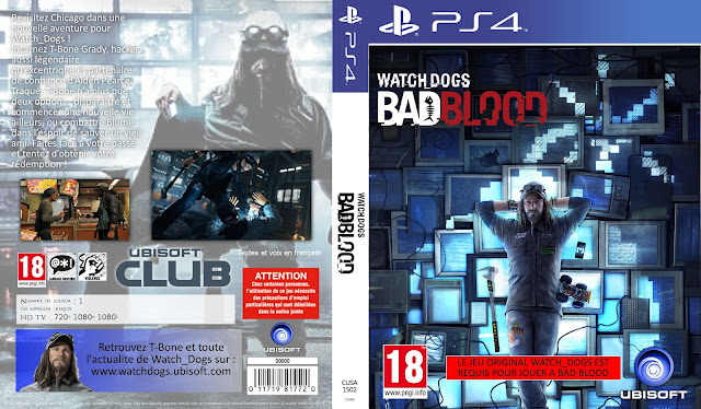 Capa Watch Dogs Bad Blood PS4