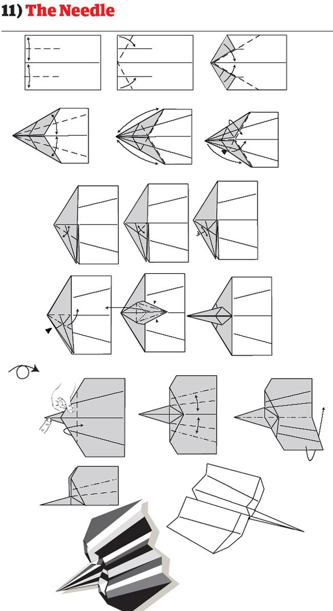 funny epic blog: how to make worlds best paper plane 12