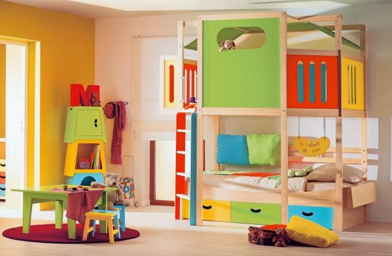 Dormitorios coloridos para ni os dormitorios colores y for Cuartos de ninos infantiles