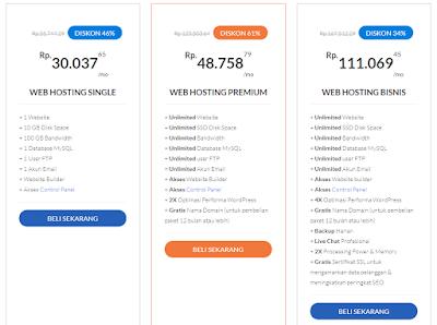 web hosting terbaik harga murah