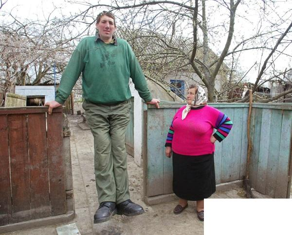 Fenryss Tallest People In The World