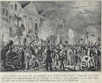 Onlusten aan huis Libry-Bagnano op 25 augustus 1830